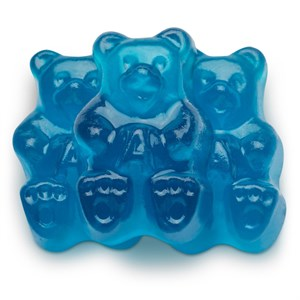 Gummi Bears - Beary Blue Raspberry 1LB