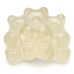 Gummi Bears - Clear Gold Poppin Pineapple 1LB