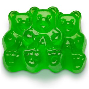 Gummi Bears - Granny Smith Green Apple 1LB