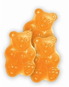 Gummi Bears - Ornery Orange 1LB