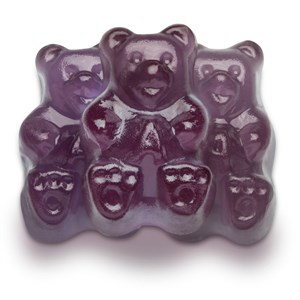 Gummi Bears - Purple Grape 1LB