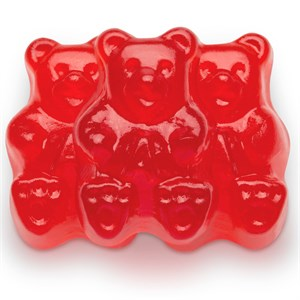 Gummi Bears - Rockin Red Raspberry 1LB