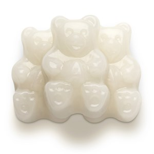 Gummi Bears - White Strawberry-Banana 1LB