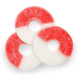 Gummy Rings - Cherry 1LB