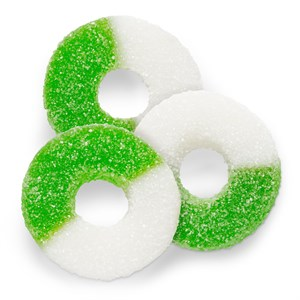 Gummy Rings - Apple 1LB