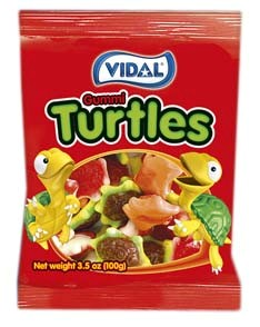 Gummy Turtles 3.5oz.