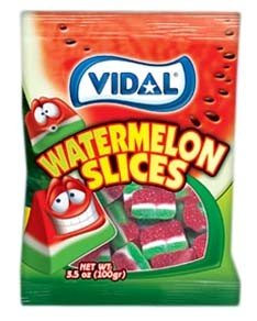 Gummy Watermelon Slices 3.5oz.