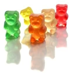 <strong>Gummy Candy, Gummi Bears, Gummy Worms </strong>