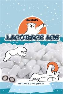 Gustaf's Licorice Ice Peppermint Bites - 4oz.