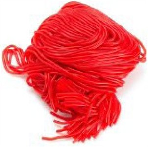 Gustaf's Strawberry Licorice Laces 2LB