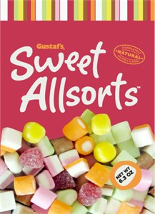 Gustaf's Sweet Allsorts Candy