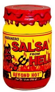 Habanero Salsa From Hell
