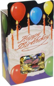Happy Birthday Favor Box (DISCONTINUED)