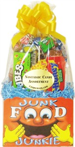 Junk Food Junkie Nostalgic Candy Gift Basket (Sold Out)