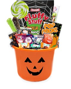 Pumpkin Trick-or-Treat Halloween Candy Pail
