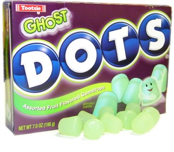 Ghost Halloween Dots Theater Box 7oz.