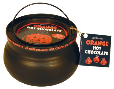 Orange Hot Chocolate Cauldron Tin 10oz.