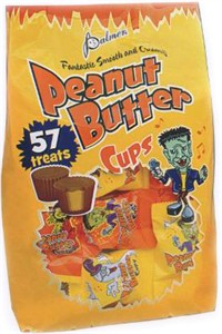 Trick-Or-Treat Peanut Butter Cups 58ct. (Sold Out)