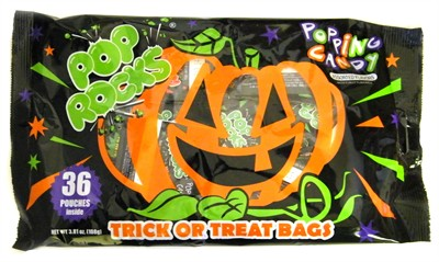 Pumpkin Pop Rocks Halloween Bags 36ct. (SOLD OUT)