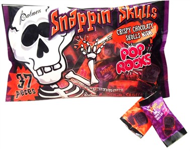 Halloween Snappin Skulls Chocolates 36ct. (Discontinued)