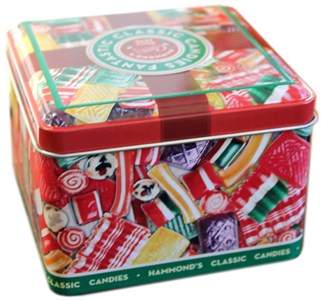 Hammond's Classic Holiday Hard Candies Tin (Sold Out)