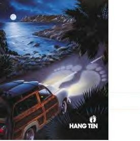 HANG TEN WOODY TIN SIGN (SOLD OUT)