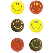 Happy Face Smiley Lollipop Mold (sold out)