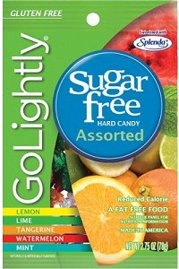 GoLightly Hard Candy Assorted - Sugar Free - 2.75oz. Bag