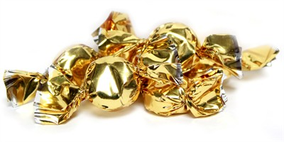 Hard Candy Flashers Gold - Mint - 5LB