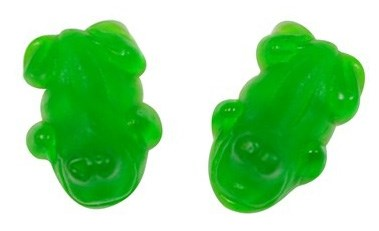 Green Gummy Frogs 4.4LB