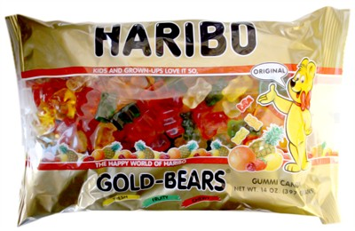 Haribo Gummy Gold Bears 14oz. (Discontinued)