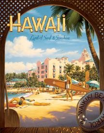 Hawaii Sun and Surf Sign (SOLD OUT)