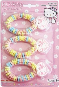 Hello Kitty Candy Bracelet 3ct. (sold out)