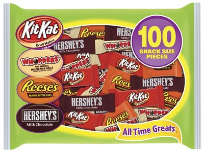 Hershey's Candy Halloween Assortment 100 count (coming soon)