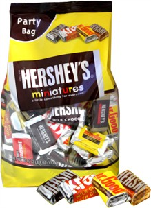 Hershey's Miniatures Assortment Party Bag - 40oz.
