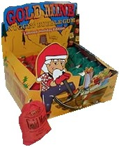 Holiday Gold Mine Gum 24ct. (sold out)