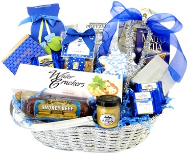 Winter Snowflake Gourmet Gift Basket (sold out)