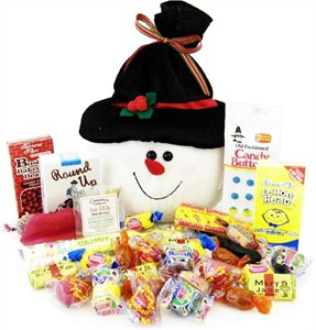 Snowman Sack of Nostalgic Candy (sold out)