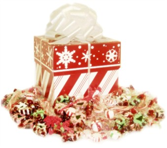 Peppermint & Snowflake Candy Assortment Gift Box (SOLD OUT)