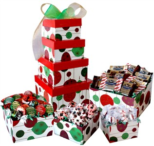 Holiday Sweet Tower of Treats (sold out)