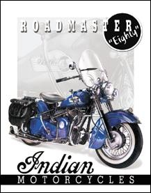 Indian - '51 Roadmaster Sign(Discontinued)