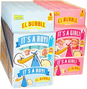 It's a Boy/Girl Bubble Gum Cigars 12ct.