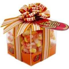 Jelly Belly Candy Corn Clear Gift Box SAVE 75% (DISCONTINUED)