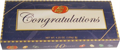 Jelly Belly 10 Flavor Congratulations Gift  (Sold Out)