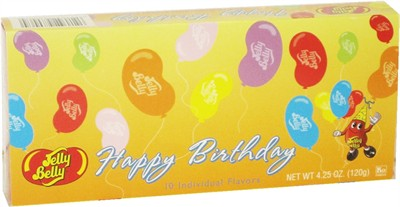 Jelly Belly 10 Flavor Happy Birthday Gift Box (DISCONTINUED)