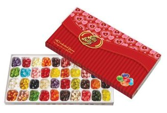 Jelly Belly 40 Flavor Valentine Gift Box (Sold Out)