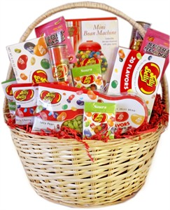 Jelly Belly Gourmet Jelly Bean Gift Basket (DISCONTINUED)