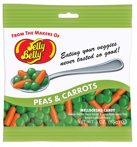 Jelly Belly Peas & Carrots Mellowcremes - 3oz. Bag
