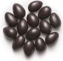 Jordan Almonds - Black 5LB