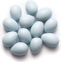 Jordan Almonds - Pastel Blue 1LB